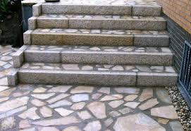 treppe naturstein bilder eingänge treppen