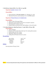 warehouse packer job description resume