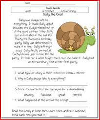 reading passage 1st grade ideas of reading comprehension worksheets for 1st grade about