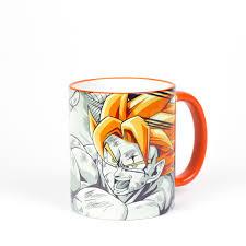 dragon ball z vegeta goku mugs gift personalized cups coffee tea