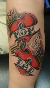 mom and dad memorial tattoos pictures to pin on pinterest tattooskid