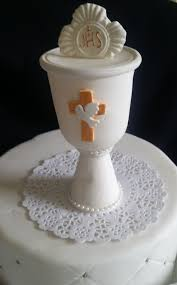 first communion chalice cake topper boy first communion