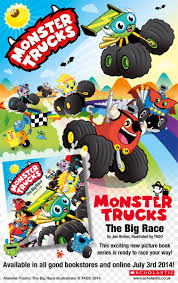 racing monster trucks the big race