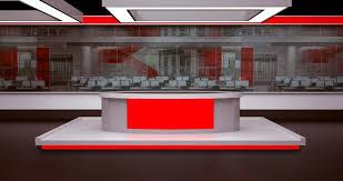 tv studio desk virtual tv studio news desk 1 transparent png datavideo virtualset