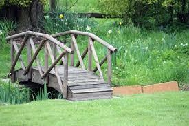 small bridge over creek yard pinterest bridge gardens and