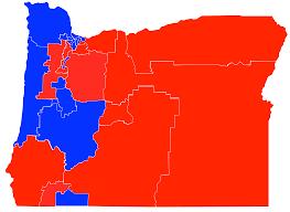 political map of oregon file oregon senate map png wikimedia commons