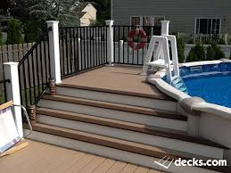 best 25 above ground pool stairs ideas on pinterest swimming