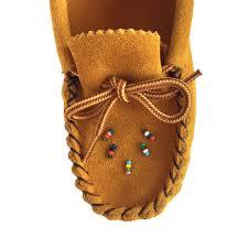 children u0027s authentic native american genuine suede slip on