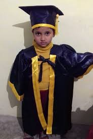 kids cap and gown kids academic gown kids yellow academic gown manufacturer from