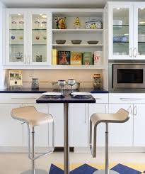 interior design show glass cabinets for a cool contemporary