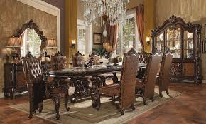 120 inch dining table versailles 120 inch dining room set cherry oak formal dining