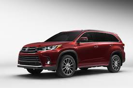 used lexus suv in toronto toyota u0027s debut of 2017 highlander mid sized suv to showcase