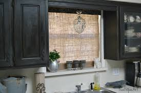 Images Of Roman Shades - a burlap roman shade for my kitchen window