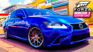lexus is350 za lexus gs350 f sport drift build forza horizon 3 custom cars