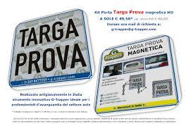 porta targa auto dispositivo porta targa prova magnetico per i professionisti dell