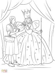 wizard coloring wizard oz coloring pages print return