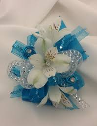 turquoise corsage corsage talk about flowers