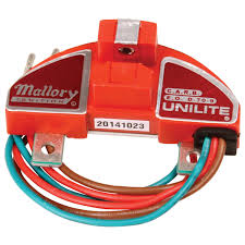 mallory 605 mallory module unilite thermaclad msd performance