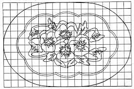 Hooked Rug Patterns Primitive Rug Hooking Pattern Natural Home Design