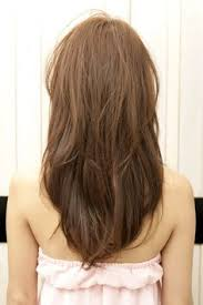 long shag hairstyle pictures with v back cut long layered hair v shape back view google search hairstyles