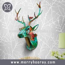 deer home decor modern animal head home decor deer head wall art decor view home