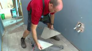 Floor And Decor Website How To Tile A Shower Base Diy At Bunnings Youtube