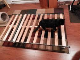 Metal Bed Frame With Wooden Slats Free Metal Bed Frame With Slats Central Saanich