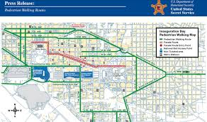 Pentagon Map Inauguration Day 2017 Survival Guide Street Closures Metro