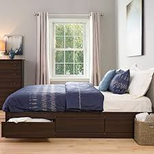 king bed size frame with drawers underneath steel factor for