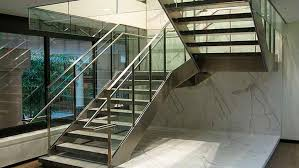 Quarter Turn Stairs Design Half Turn Staircase Metal Steps Metal Frame Without Risers