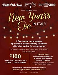 new year u0027s eve dinner party jersey girls food tours nj