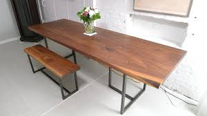 dining table simple dining room decorating custom made walnut
