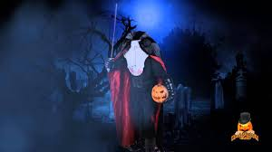 halloween headless horseman costume life sized headless horseman animated prop available now at