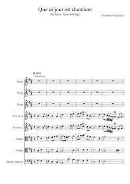 scanderberg francœur françois imslp petrucci music library