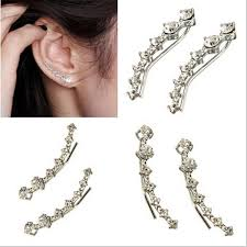 trendy earrings trendy stud earrings trendy creative zipper slider ear stud
