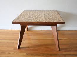 Mid Century Modern Round Coffee Table Mid Century Modern Tile Top Tables Picked Vintage