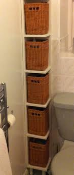 bathroom shelves ideas best 25 shelves with baskets ideas on bathroom sink