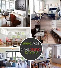 Modern Home Decor Small Spaces Small Dining Rooms That Save Up On Space