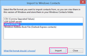 csv format outlook import import contacts from icloud vcard vcf file to outlook office