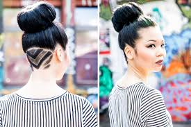 undercut women s hairstyles dobi hair tutorial undercut hair tattoo by martin dürrenmatt