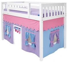 Essential Home Slumber And Slide Loft Bed Curtain Set Best Loft - Essential home bunk bed