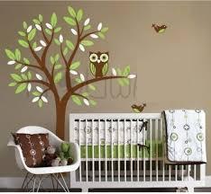 owl tree wall decal sticker leafy dreams nursery owl tree wall decal sticker