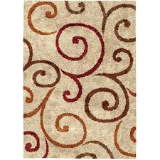 Area Rug Pictures Better Homes And Gardens Swirls Soft Shag Area Rug Or Runner