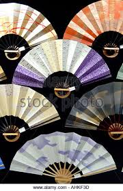 japanese fans for sale japanese fans in shop kyoto stock photos japanese fans in shop