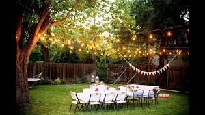 backyard tent wedding reception home outdoor decoration