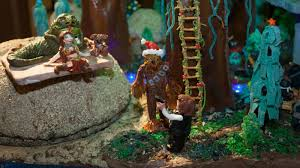 seattle holiday events sheraton seattle gingerbread village