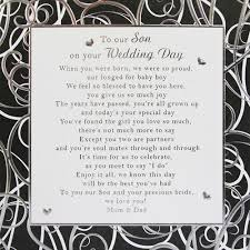 to my on our wedding day card to our wedding day card ebay family sons