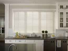 Roman Shades Over Wood Blinds Kitchen Fabulous Kitchen Blinds And Shades Kitchen Roman Blinds