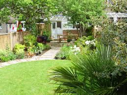 Suburban Backyard Landscaping Ideas by Long Thin Suburban Floral U0026 Hardy London Uk