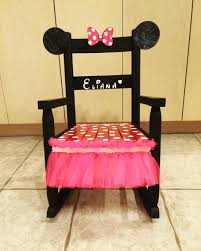 mini minnie mouse rocking chair for your minnie mouse obsessed
